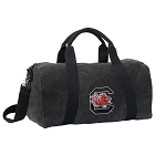 South Carolina Gamecocks Duffel RICH COTTON Washed Finish Black