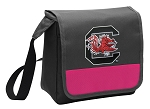 South Carolina Gamecocks Lunch Bag Cooler Pink