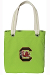 South Carolina Tote Bag RICH COTTON CANVAS Green