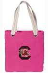 South Carolina Tote Bag RICH COTTON CANVAS Pink