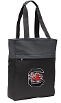 South Carolina Gamecocks Tote Bag Everyday Carryall Black