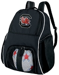 South Carolina Gamecocks Ball Backpack Bag