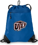 UTEP Miners Drawstring Bag MESH & MICROFIBER Royal