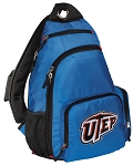 UTEP Miners Backpack Cross Body Style Blue