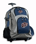UTEP Miners Rolling Backpack Navy