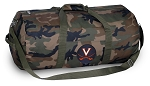 University of Virginia Camo Duffel Bags