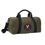 University of Virginia Duffel RICH COTTON Washed Finish Khaki