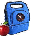 UVA University of Virginia Lunch Bag Blue