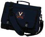 UVA University of Virginia Messenger Bag Navy