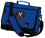 UVA University of Virginia Messenger Bag Royal
