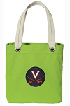 UVA Tote Bag RICH COTTON CANVAS Green