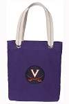 UVA Tote Bag RICH COTTON CANVAS Purple
