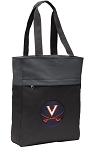UVA Tote Bag Everyday Carryall Black
