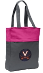UVA Tote Bag Everyday Carryall Pink