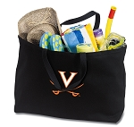 UVA Jumbo Tote Bag Black
