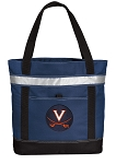 UVA University of Virginia Insulated Tote Bag Navy