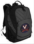 UVA Deluxe Laptop Backpack Black