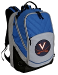UVA Deluxe Laptop Backpack Blue