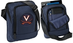 UVA University of Virginia Tablet or Ipad Shoulder Bag Navy