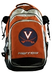 UVA Harrow Field Hockey Lacrosse Backpack Bag Orange
