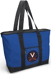 UVA University of Virginia Blue Tote Bag