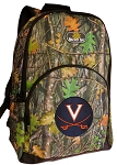 UVA University of Virginia Backpack REAL CAMO DESIGN