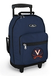 UVA University of Virginia Rolling Navy Backpacks