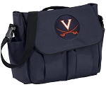 UVA University of Virginia Diaper Bag Navy