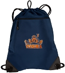 UVA Peace Frog Drawstring Backpack-MESH & MICROFIBER Navy