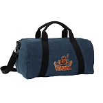 UVA Peace Frog Duffel RICH COTTON Washed Finish Blue