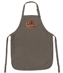 Official University of Virginia Peace Frogs Logo Apron Tan