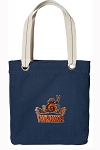 UVA Peace Frog Tote Bag RICH COTTON CANVAS Navy