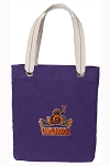 UVA Peace Frog Tote Bag RICH COTTON CANVAS Purple