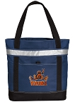 UVA Peace Frog Insulated Tote Bag Navy