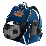 UVA University of Virginia Soccer Ball Backpack