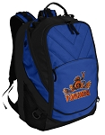 UVA Peace Frog Deluxe Computer Backpack Blue