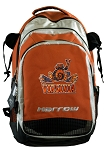 UVA Peace Frog Harrow Field Hockey Lacrosse Backpack Bag Orange