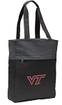 Virginia Tech Tote Bag Everyday Carryall Black