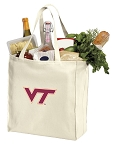 Virginia Tech Shopping Bags Canvas
