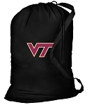 Virginia Tech Laundry Bag Black