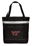 Virginia Tech Insulated Tote Bag Black