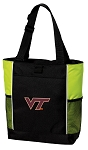 Virginia Tech Tote Bag COOL LIME