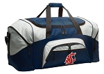 Large Washington State University Duffle Washington State Duffel Bags