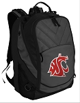 Washington State Deluxe Laptop Backpack Black