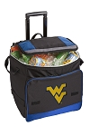 WVU Rolling Cooler Bag Blue