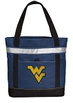 West Virginia Insulated Tote Bag Navy