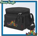 Peace Frogs Lunch Box Cooler Bag Insulated