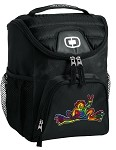 Peace Frogs Lunch Bag Insulated Lunch Cooler Black