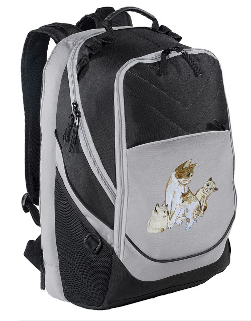 Cute Cats Laptop Backpack