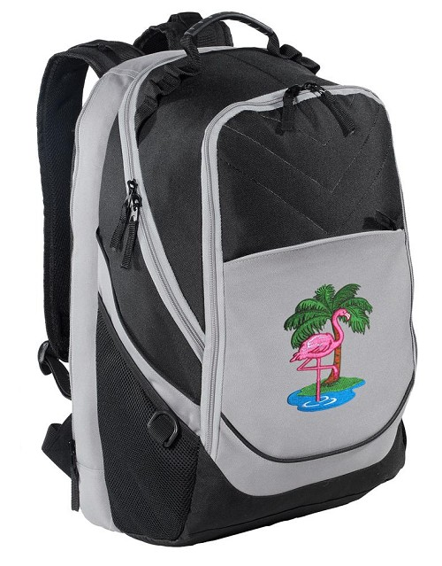 Flamingo Laptop Backpack